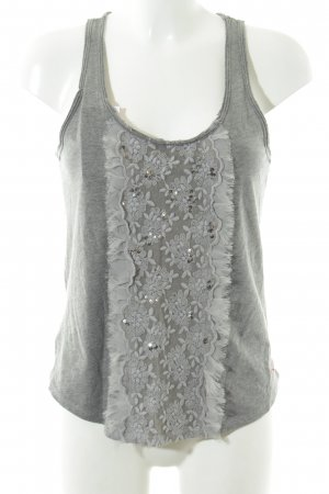 Hollister Tanktop grau Casual-Look
