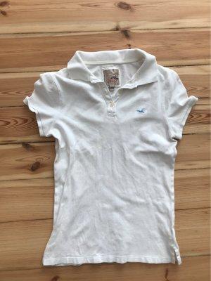 Hollister Camicia a maniche corte bianco-blu neon