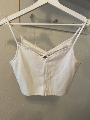 Hollister Cropped Top multicolored cotton