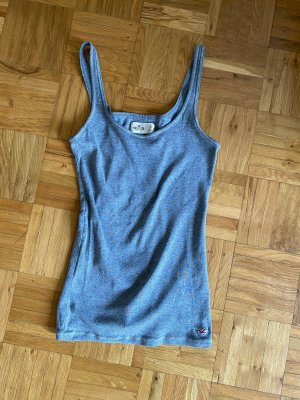 Hollister Top in Hellgrau, Gr S