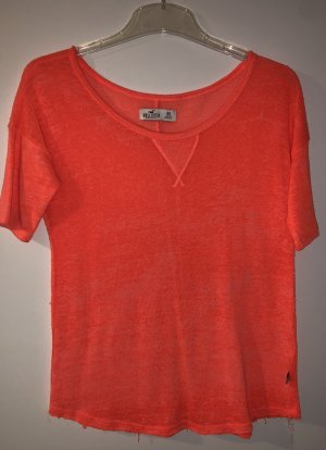 Hollister top neon
