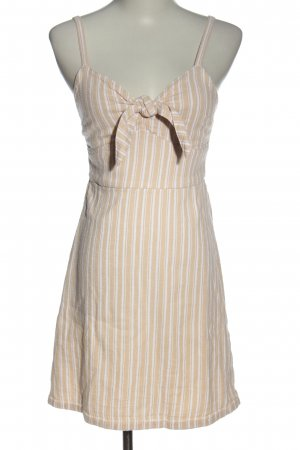 Hollister Pinafore dress nude-white allover print casual look