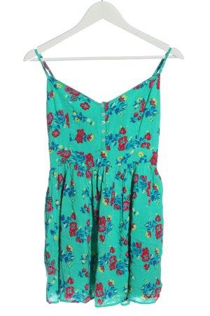 Hollister Mini Dress allover print casual look