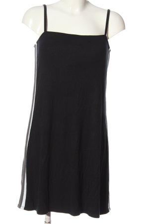 Hollister Trägerkleid schwarz Streifenmuster Casual-Look