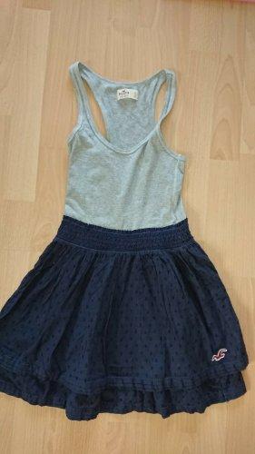 Hollister Trägerkleid ,Gr. S, Grau blau, Sommer