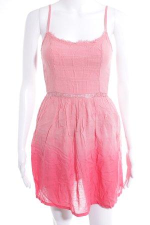 Hollister Trägerkleid rosa-magenta Farbverlauf