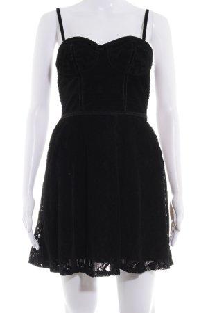 Hollister Trägerkleid schwarz