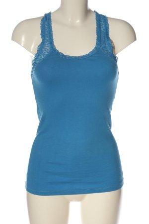Hollister Trägertop blau Casual-Look