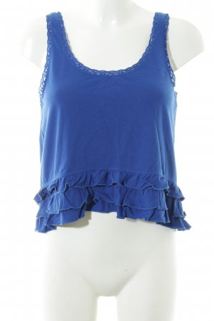Hollister Trägertop blau Casual-Look