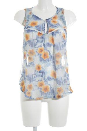 Hollister Transparenz-Bluse Blumenmuster schlichter Stil