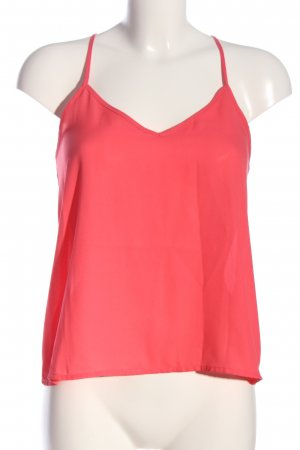 Hollister Transparenz-Bluse rot Casual-Look