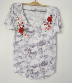 Hollister Batik Shirt light grey-red
