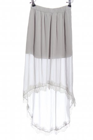 Hollister Tulle Skirt light grey casual look