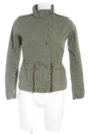 Hollister Between-Seasons Jacket lime-green-light brown