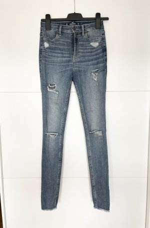 Hollister Jeans skinny grigio ardesia-blu