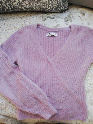 Hollister V-Ausschnitt Pullover XS, weich, lavendel/rosa