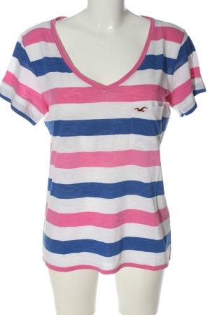 Hollister V-Ausschnitt-Shirt meliert Casual-Look