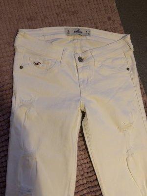 Hollister weiße destroyed Jeans NEU