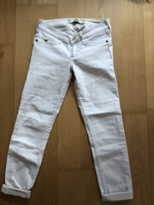 Hollister weiße Hose