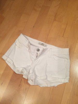 Hollister weiße Shorts