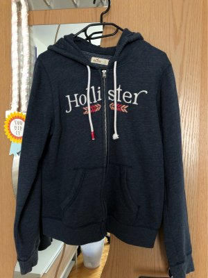 Hollister Hooded Vest multicolored