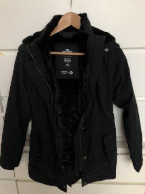 Hollister Abrigo de plumón negro-azul