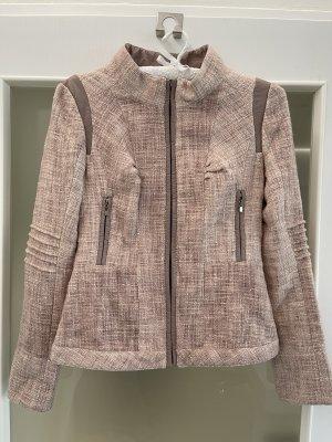 Holly Golightly Blazer Tweed rosa empolvado-rosa