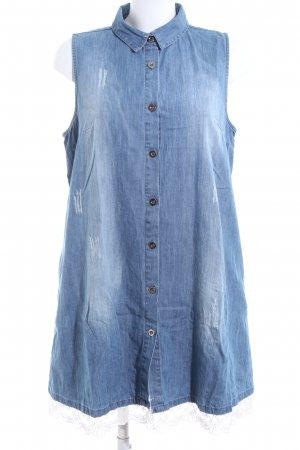 Holly Golightly Jeanskleid blau Casual-Look