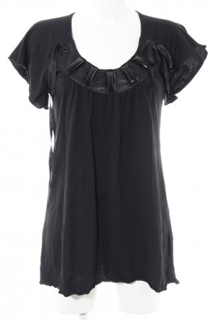 Holly Golightly Longshirt schwarz Casual-Look