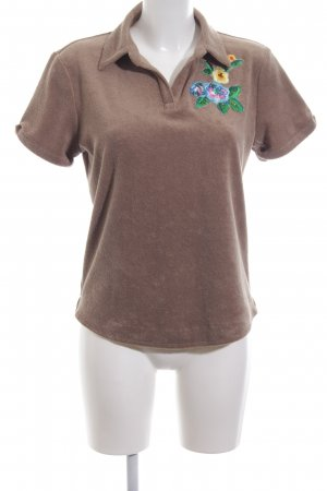 Holly Golightly Polo-Shirt braun Casual-Look