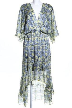 Maxi Dress flower pattern elegant