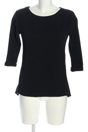 holly's Longshirt schwarz Casual-Look