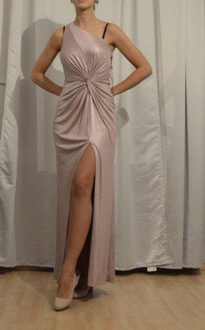Adrianna Papell Vestido de noche multicolor tejido mezclado