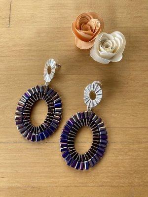 My Jewellery Boucle d'oreille incrustée de pierres multicolore