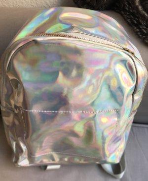 1 NY tee Zaino per la scuola argento Lyocell