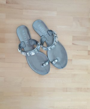 Holster Beach Sandals silver-colored-grey