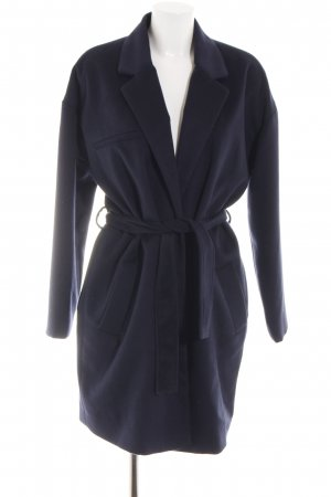 Holy Manteau polaire bleu style d'affaires