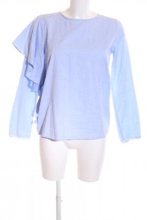 Holy Ghost Oversized Bluse blau Casual-Look