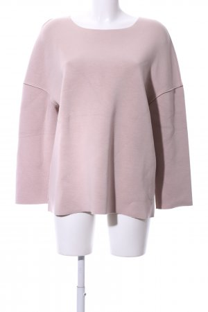 Holy Ghost Rundhalspullover pink Casual-Look