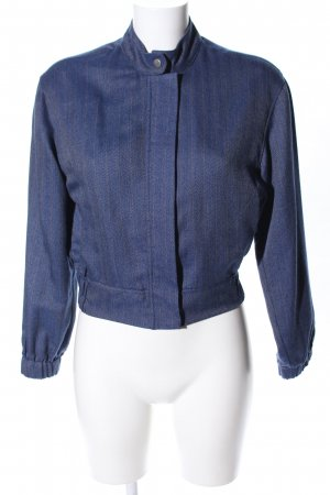 Holy Kurzjacke blau grafisches Muster Casual-Look