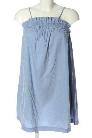 Holy Trägerkleid blau Streifenmuster Casual-Look