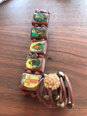 0039 Italy Bracelet brésilien multicolore