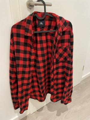 Ckh clockhouse Lumberjack Shirt black-red