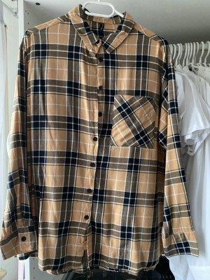 New Yorker Lange blouse lichtbruin-goud Oranje