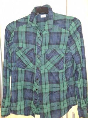 Pimkie Lumberjack Shirt blue-green