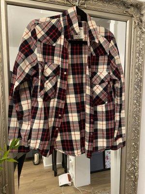 Zara Woman Koszula w kratę Wielokolorowy