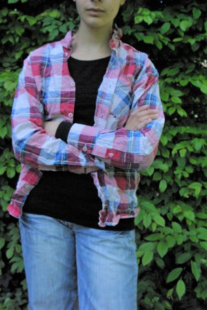 Fishbone Flannel Shirt multicolored cotton