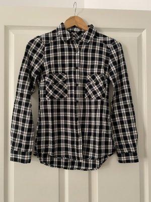 Pimkie Chemise de bûcheron blanc-noir