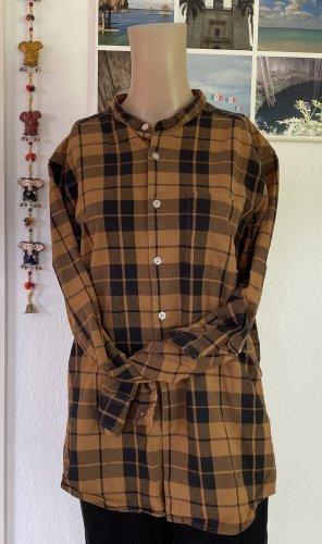Asos Camicia da boscaiolo marrone-nero