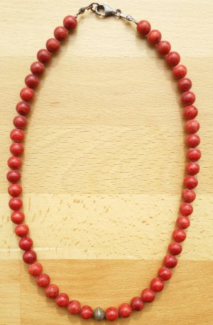 Ohne Pearl Necklace multicolored wood